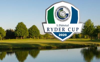 Dütetal Ryder Cup – abgesagt